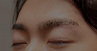 眉毛スタイリングの流れ